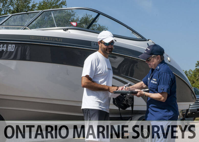 Marine and Boat Surveys in Ontario for Marine Insurance Policy