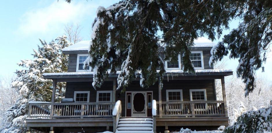 Winter Cottage Ontario